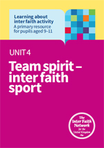 Unit 4 Team spirit – inter faith sport