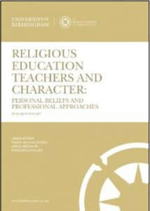 Religious Education Teachers and Student's Character