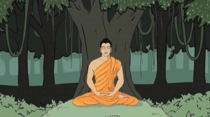 The Buddha under the tree