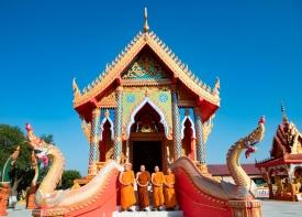 Buddhist temple, Laos