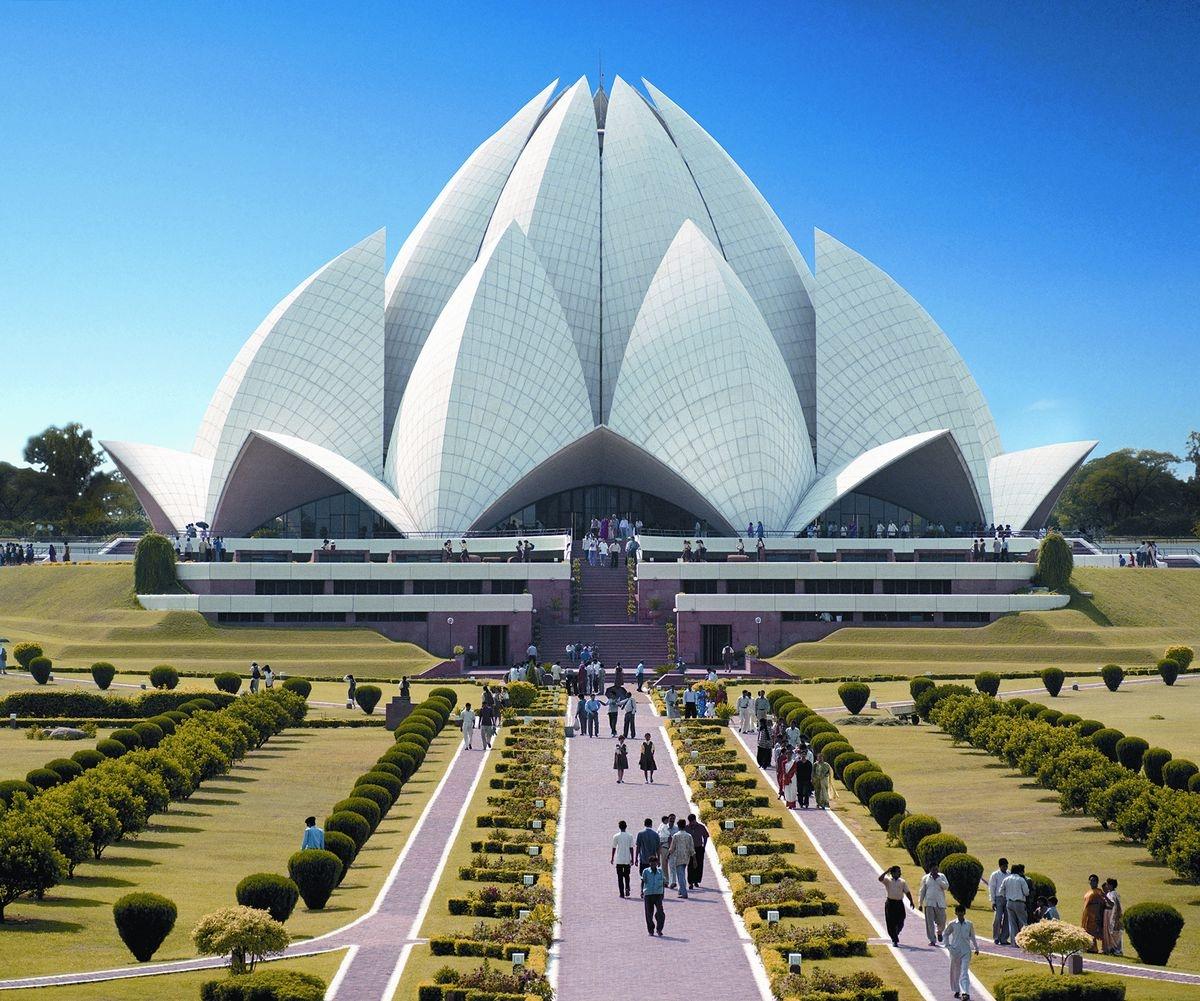 Bahá'í House of Worship, New Delhi, India